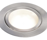 13000 LED downlight 3W 3000K 240 lm IP20 Dimmbar Farge: Børstet stål
